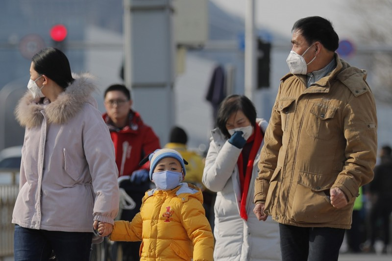 武漢市長周先旺強調,當局已嚴格控制人潮群聚。(歐新社)