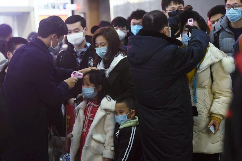 武漢23日封城,所有聯外交通中斷,城市內的民眾不得前往其他地區。(路透)