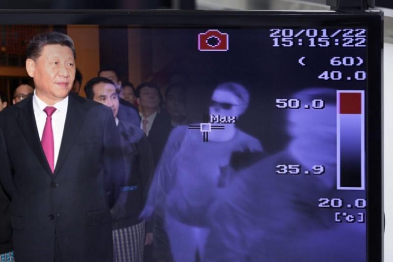 中國武漢肺炎有嚴重趨勢,領導人習近平被認為錯估情勢。(本報合成)