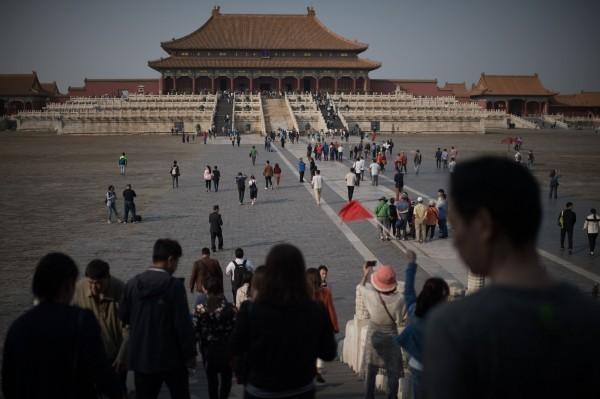 北京故宮博物院。(法新社)