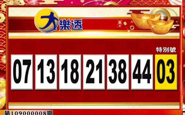大樂透、49樂合彩開獎號碼。(圖擷取自57東森財經新聞)