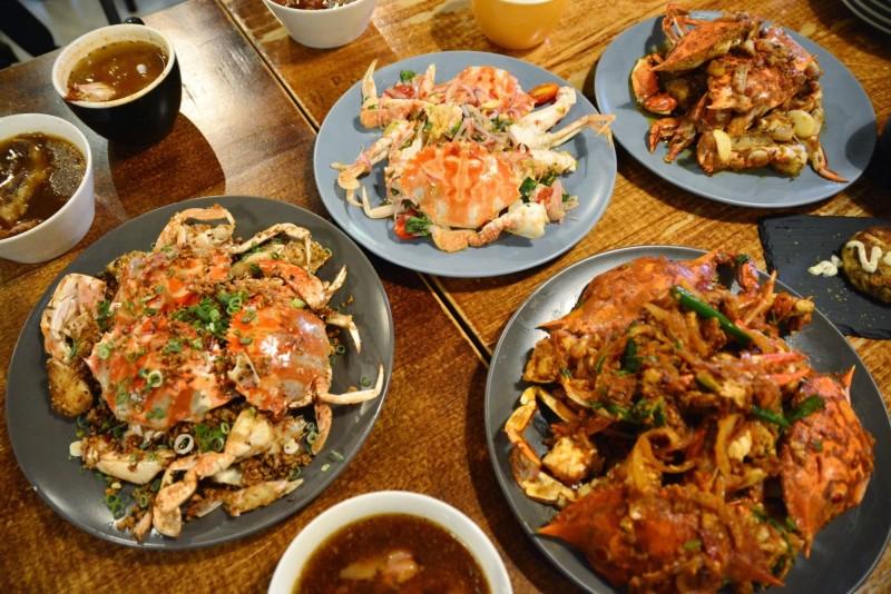冬天的萬里蟹肉質細膩,是過年吃海鮮的首選,各式烹調方法都讓人百吃不厭。(記者俞肇福翻攝)