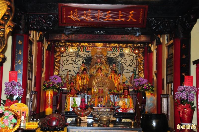 花蓮勝安宮是台灣「天上王母娘娘」信仰起源。(記者花孟璟攝)