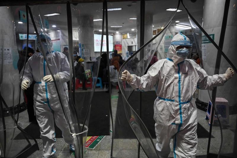 美國傳染病專家費南多在本月17、18日曾前往武漢專程觀察疫情及當地政府的防疫狀況,他武漢採取封城措施是有害而無益。(法新社)