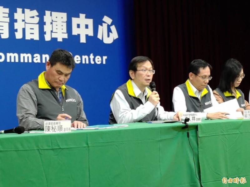 國內新增2例中國籍旅客感染武漢肺炎病例。(記者吳亮儀攝)