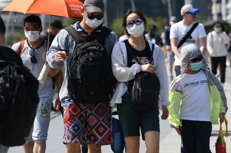 新加坡出現武漢肺炎第5例確診。(法新社)
