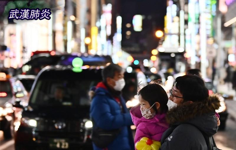 日本傳出首宗本土感染病例,一名遊覽車司機曾在本月載過武漢旅行團。(法新社,示意圖)