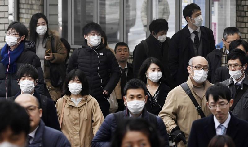 日本傳出第8起武漢肺炎確診病例。(美聯社)