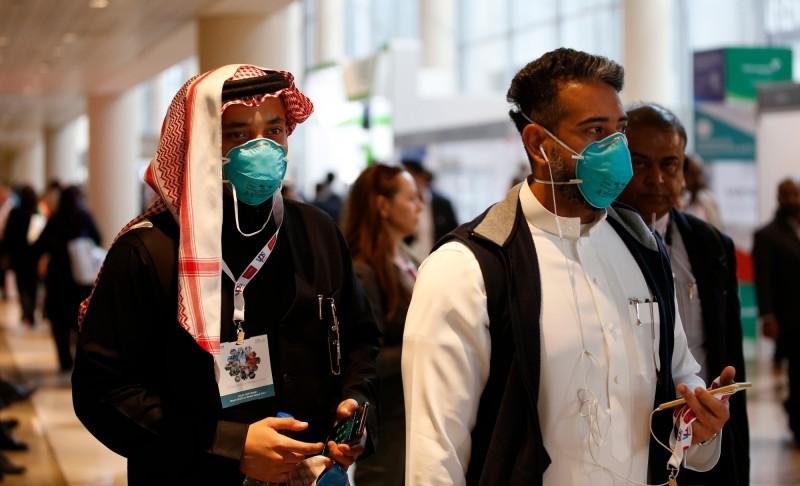 阿聯29日傳出來自中國一家4口的武漢肺炎確診病例。(歐新社)