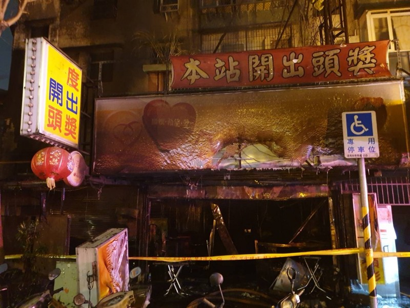 疑患躁鬱症的36歲林姓男子,昨與姊姊起口角後,竟在母親經營的彩券行內縱火,害母親逃生不及喪命。(記者王宣晴翻攝)