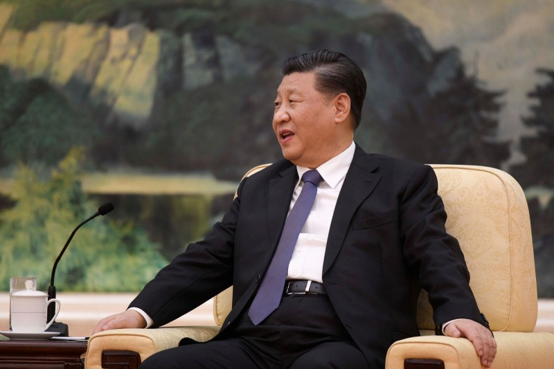 中共領導人習近平不任中共中央疫情領導小組組長之職,引發外界卸責的看法。(路透)
