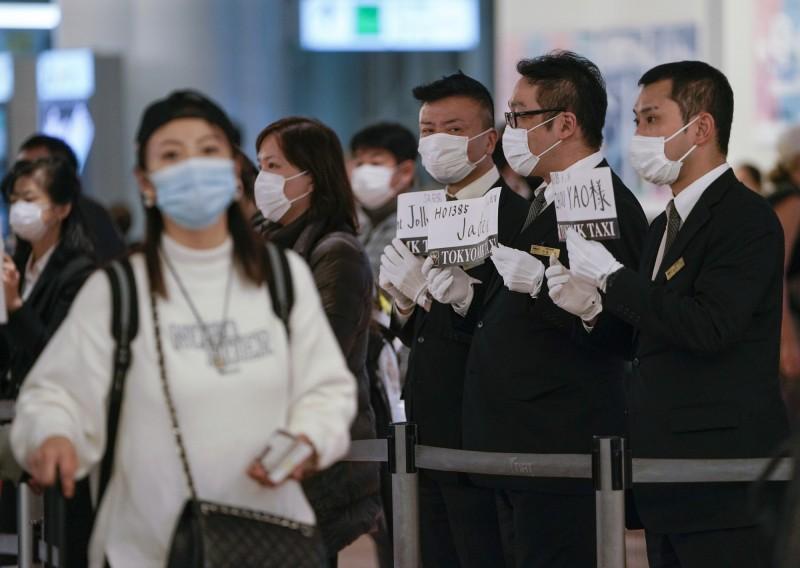 日本第2架武漢撤僑專機今(30日)上午8時50分降落東京羽田機場,相關機構透露在之前已預定要將機上13人送醫。羽田機場示意圖。(歐新社)