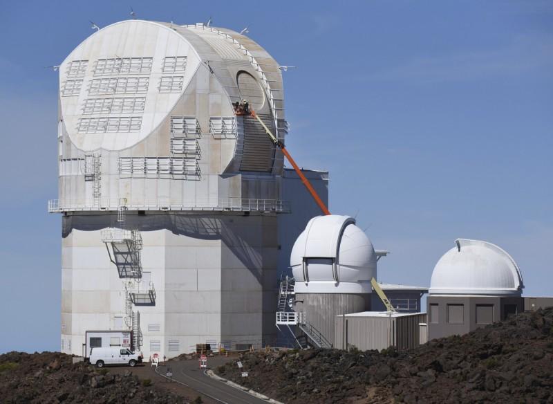丹尼爾·井上(Daniel K. Inouye)太陽望遠鏡。(美聯社)