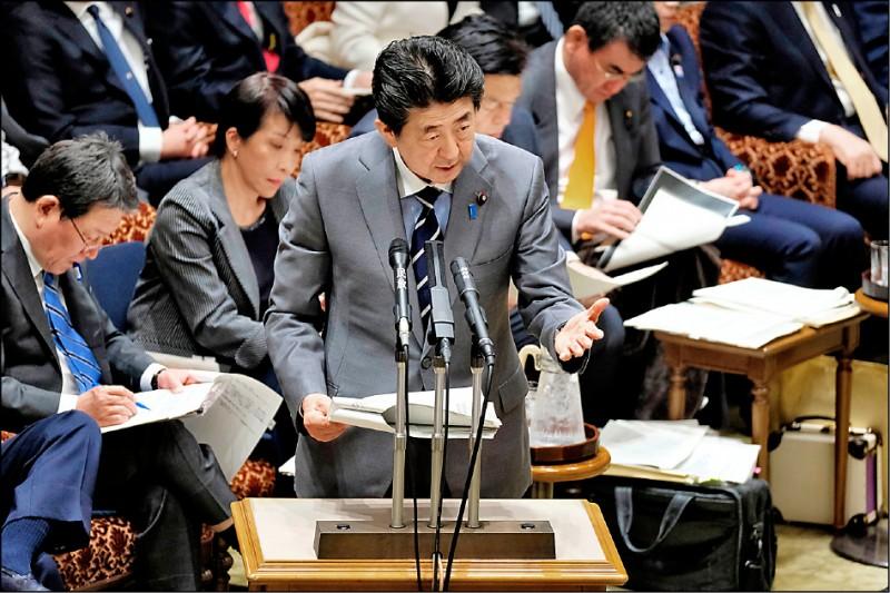 日本首相安倍晉三昨公開挺台灣加入世界衛生組織(WHO),他表示,在武漢肺炎疫情擴大的情況下,台灣加入WHO有極高的必要性。(法新社)
