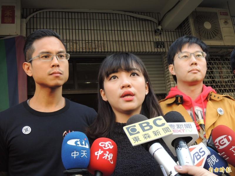 黃捷質疑韓國瑜要蓋大收容所作法,是貽笑大方的靈機一動政策。(記者王榮祥攝)