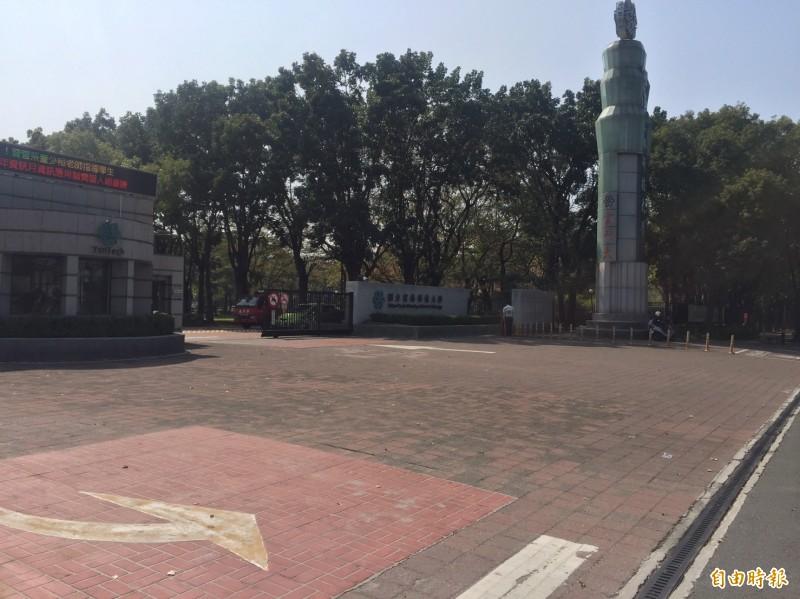雲林科技大學下週宣佈是否延後開學。(記者林國賢攝)