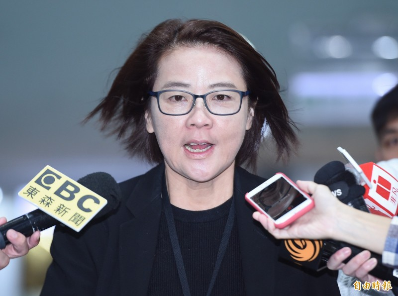 台北市副市長黃珊珊。(資料照)