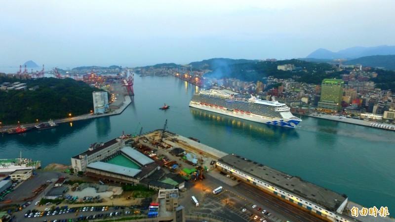 香港確診的第14例老翁,上月20日前往日本橫濱搭乘郵輪,該郵輪曾在上月31日停靠基隆港。圖為示意圖。(資料照)