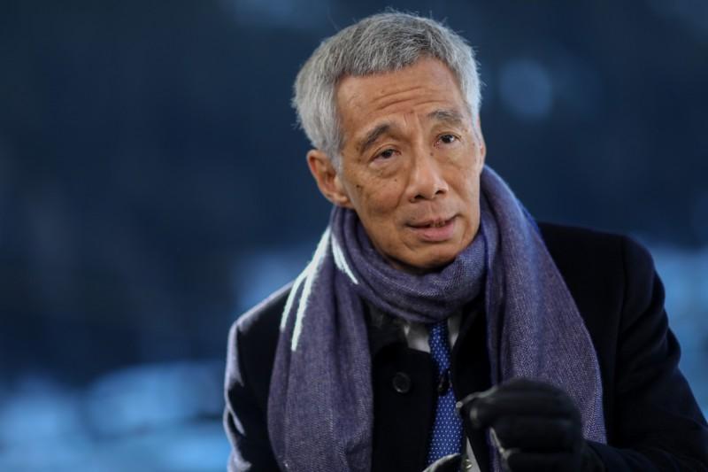 新加坡總理李顯龍。(彭博)