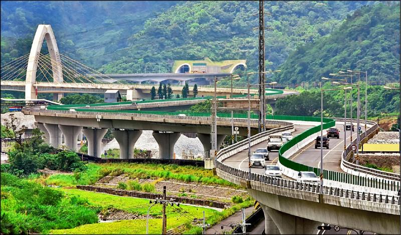 蘇花改最高速限六十公里,不少用路人反映,油門輕輕一踩便會超速。(資料照)