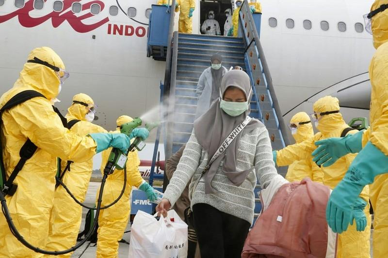 全球多國已相繼展開撤離滯留中國湖北省武漢市僑民的行動,而僑民返國後續的安置計畫,更是防疫關鍵。(法新社資料照)