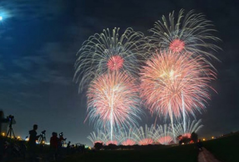 台南聖母廟元宵國際高空煙火迎春系列活動將於週六登場。(蘇柏安提供)