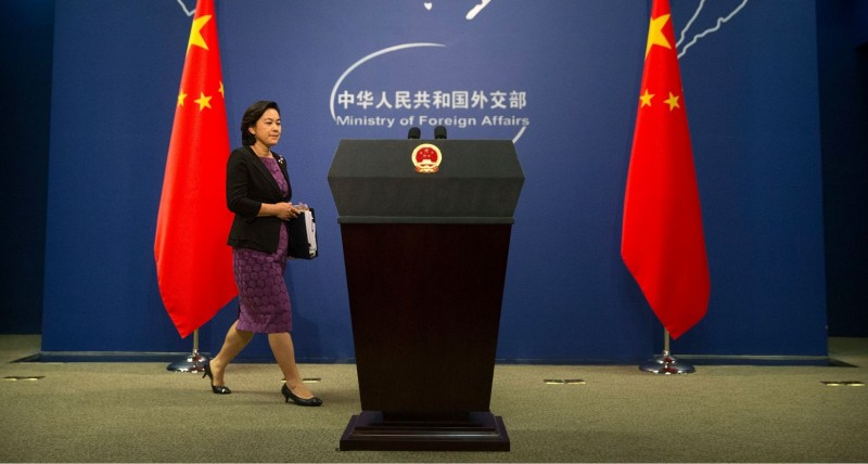 華春瑩(見圖)不滿美國沒聽取世界衛生組織的建議,對中國做出過度的防疫措施。(美聯社檔案照)