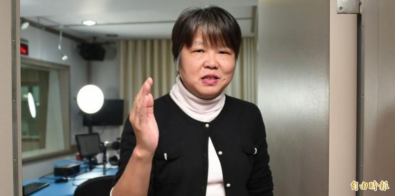 黃光芹(見圖)在臉書痛批,台灣有群人正在發武漢肺炎政治財,完全無視中國禍延國際。(資料照)