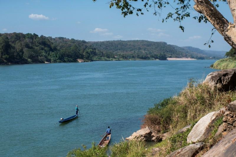 泰國停止了中國主導的開發湄公河主要河段的計畫。(路透)