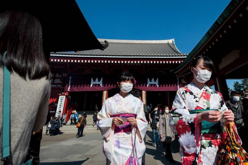 京都市今天公布疑為境內感染武漢肺炎的新病例,為一名住在京都府20多歲的中國籍男性。(法新社)