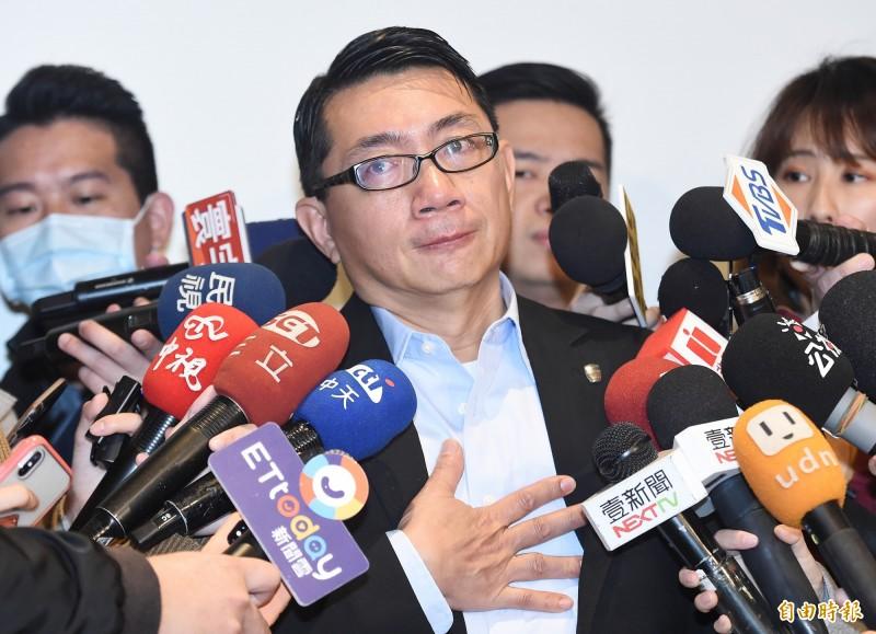 獨派團體台灣國辦公室主任陳峻涵今天說,明天下午2點28分將赴台北地檢署告發徐正文(見圖)涉犯反滲透法。(資料照)