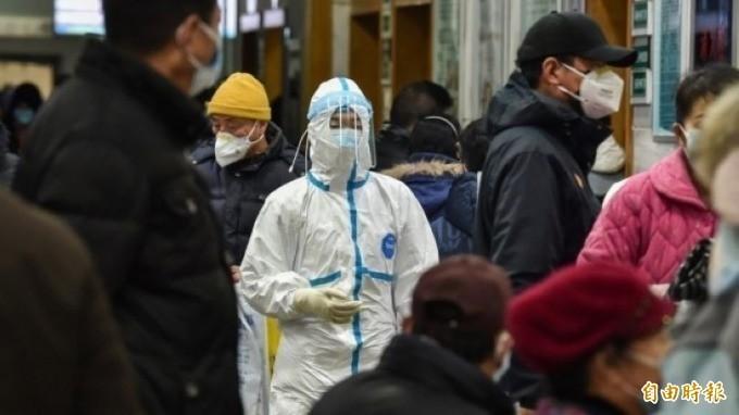 香港今日再添3起武漢肺炎確診案例,目前總計來到24例。(法新社)