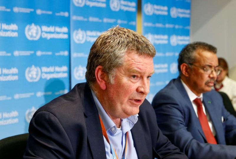 WHO緊急項目負責人麥克‧雷恩(見圖)在記者會上,對李文亮的逝世表達不捨。(路透)
