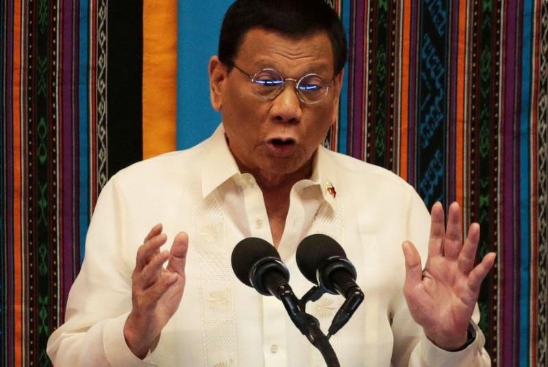 杜特蒂於2月7日下令終止美國與菲律賓在1998年簽署的美菲《部隊訪問協定》(VFA)。(路透)