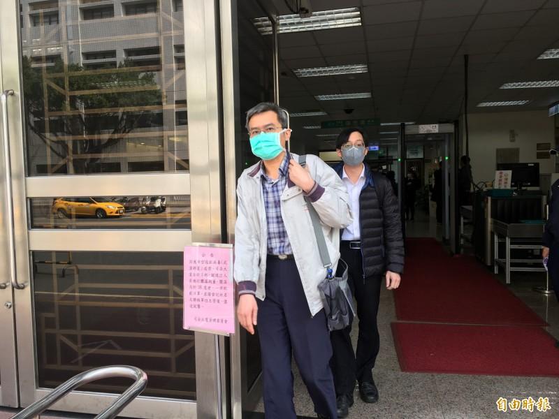 台大名醫黃慧夫請求刑事補償,今到高院開庭。(記者張文川攝)