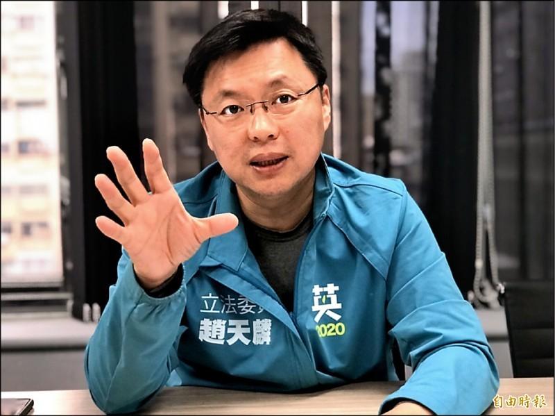 民進黨立委趙天麟表示,恐怕是中國國家主席習近平受到中共內部前所未有的挑戰,才出此下策吧?(資料照)