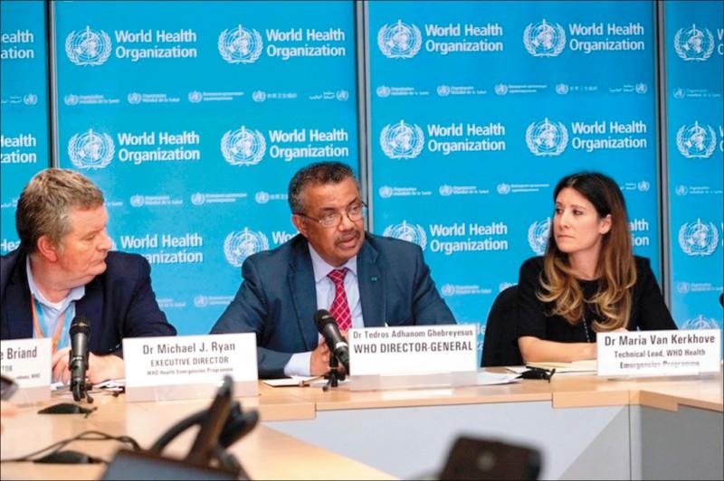 WHO邀全球400位專家人士舉辦一場論壇討論武漢肺炎病毒。(圖取自twitter.com/WHO)