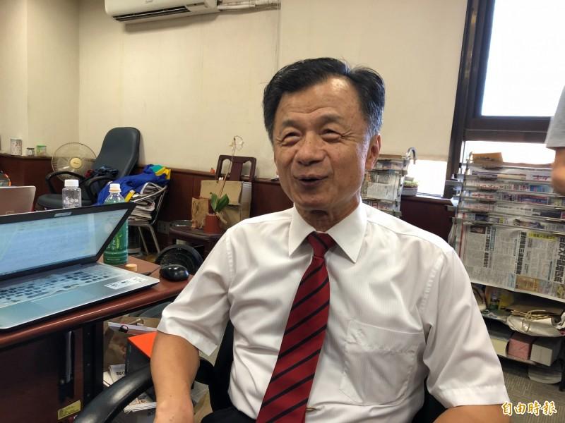 前法務部長邱太三捲入關說疑雲,監院今以1:8未通過彈劾案。(資料照。記者吳政峰攝)