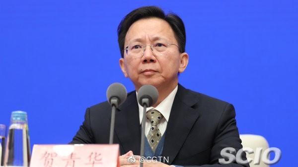 衛健委疾控局負責人賀青華。(翻攝微博)
