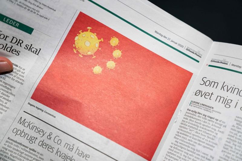 中國官方文件曝光,北京中央指示各地醫療院所,不得將武漢肺炎無症狀感染者列為確診病例。(法新社檔案照)