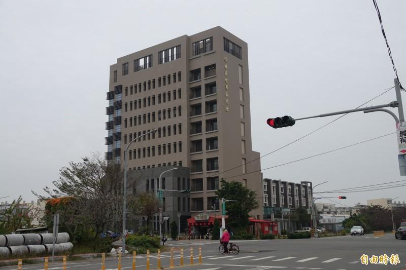 鹿港將新增加1家國際級旅館,就將位於即將落成的鹿信管理部大樓。(記者劉曉欣攝)