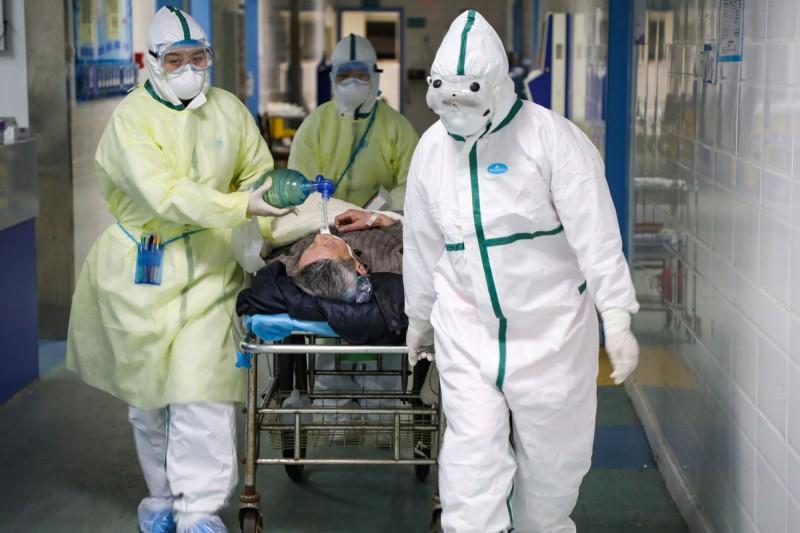 中國統計武漢肺炎病例的制度,使外界困惑。(路透)