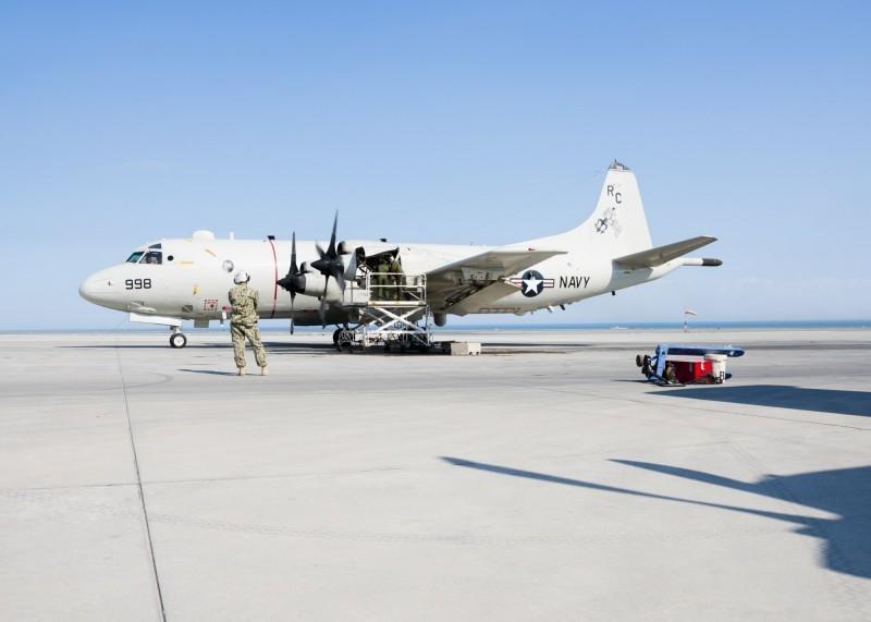 立委王定宇今日在臉書分享訊息,表示一架美軍P3-C型機,今天上午從嘉手納空軍基地起飛,飛經鵝鑾鼻南南西方約70-80海浬處,折返回嘉手納基地。(擷取自美國海軍官網)