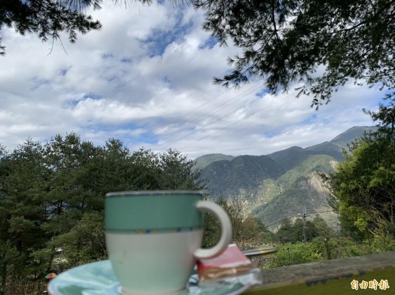 台中休閒露營區業者認為生意不受疫情影響,多虧小英選上。(記者唐在馨攝)