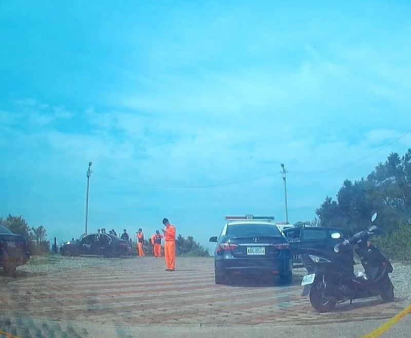 男子離家2天,被發現陳屍在心形公路上停車場。(記者蔡政珉翻攝)