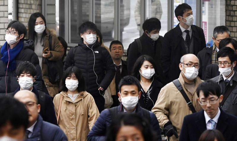 日本14日一天新增8名武漢肺炎確診病例。(歐新社)