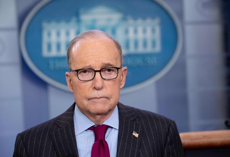 白宮經濟顧問庫德洛(Larry Kudlow)說,美國對沒有被邀請進入中國感到遺憾,美方對中國的疫情缺乏透明度感到有點失望。(法新社)