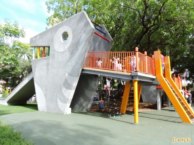 新北市板橋四維公園驚傳張女急產下一名新生嬰兒後,棄置致死的悲劇;圖為四維公園照。(資料照)