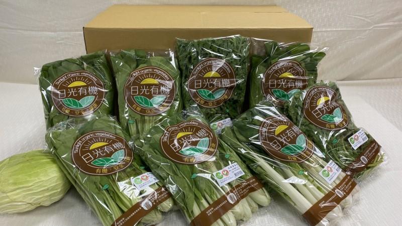 市府農業局推出有機蔬菜箱認購活動,民眾反應熱烈,短短3天認購數量已達目標。(桃園市農業局提供)