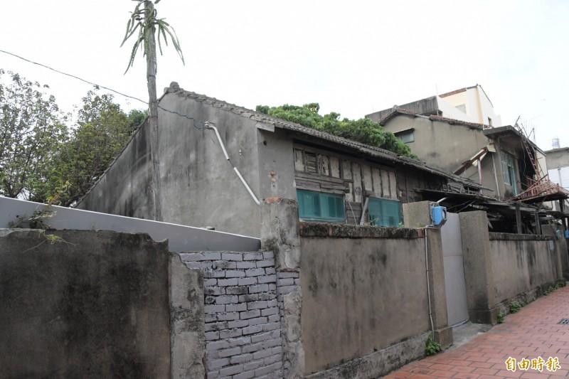 鹿港和興派出所宿舍即將進行修復再利用工程,將打造青創基地。(記者劉曉欣攝)